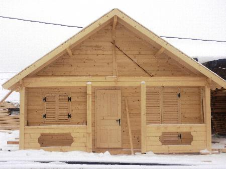 Rachita srl produttori di case in legno for Case di legno in romania